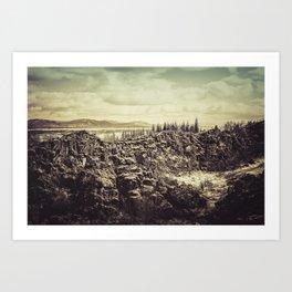 Thingvellir Art Print