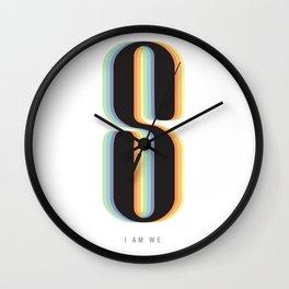 I AM WE. Sense8 Wall Clock