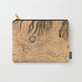 Map Of Honolulu 1887 Carry-All Pouch
