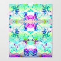 psych Canvas Prints featuring 'Plant Psych' by Hannah Stouffer