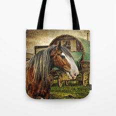 The Gypsy Vanner Tote Bag