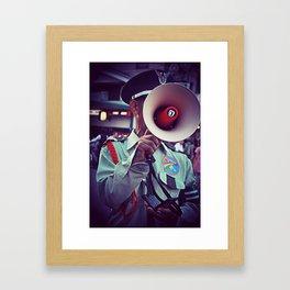 Rainbow Police Framed Art Print