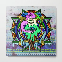 Third Eyescream Metal Print