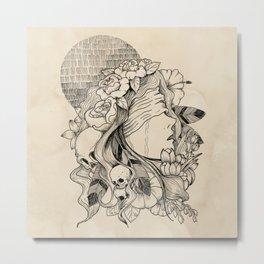 Blindfolded v.2 Metal Print