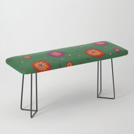 Retro Blooming Bench