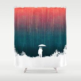 Meteoric rainfall Duschvorhang