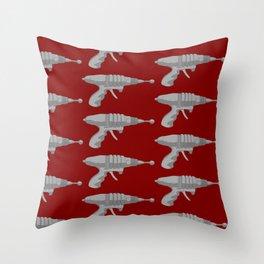 Raygun Set To Stun Throw Pillow