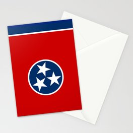 Tennessee State flag Stationery Cards