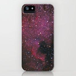 The North American Nebula iPhone Case
