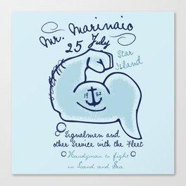 Mr. Marinaio Canvas Print
