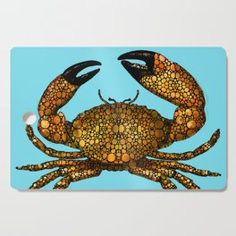 Stone Rock'd Stone Crab By Sharon Cummings Cutting Board