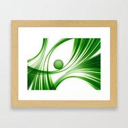 Green 113 Framed Art Print