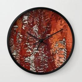 AB untiltled I Wall Clock