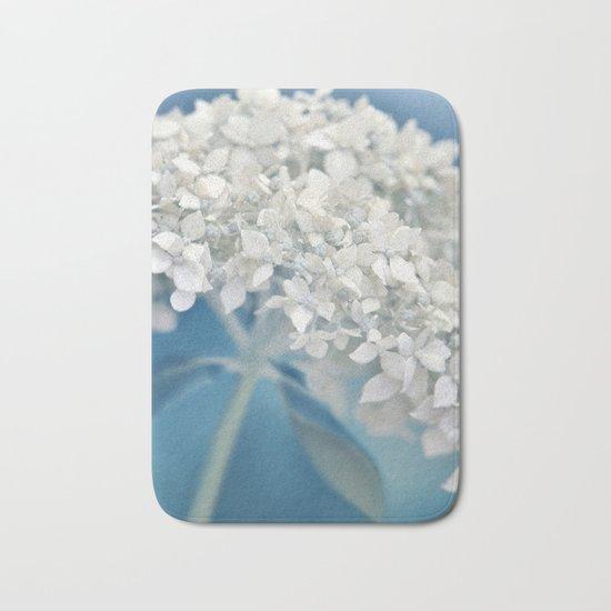 Beautiful White Hydrangea 276 Bath Mat