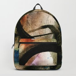 Enso Of Zen No. 4 by Kathy Morton Stanion Backpack