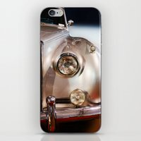silver iPhone & iPod Skins featuring Silver by Lia Bernini