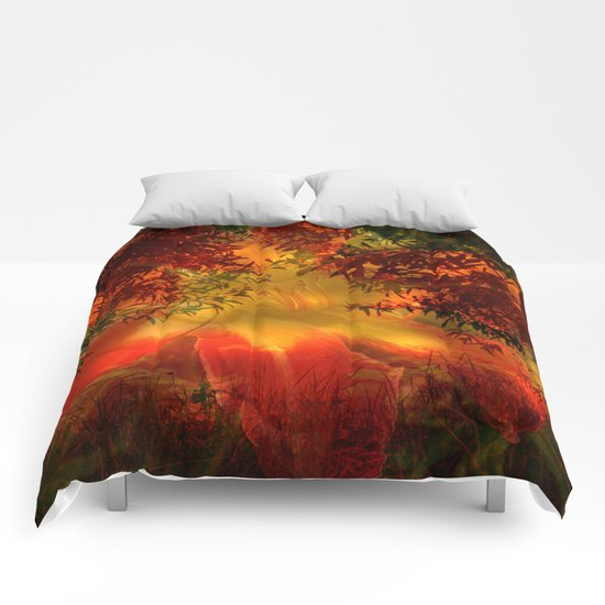 Daydreams on the edge of nature Comforters