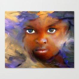 every child  / Haiti., Caribbean, children, portrait Canvas Print