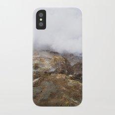 geothermal steam iPhone X Slim Case