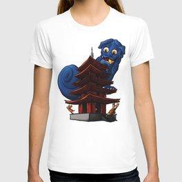 a Dog a Panic in a Pagoda T-shirt