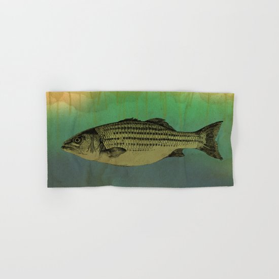 A Fish Hand & Bath Towel