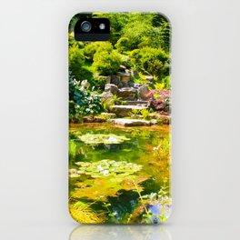 The Tea Garden iPhone Case