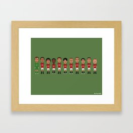 Manchester United 2013 Framed Art Print