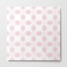 Valentine pattern2 Metal Print