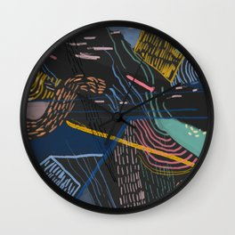 ProcrastiNATION Wall Clock