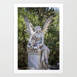 Angel Grave I Art Print