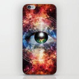 Quantum space iPhone Skin