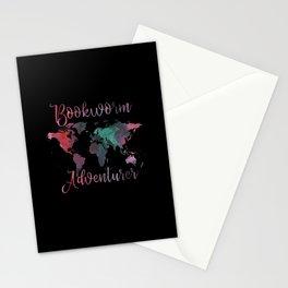 Bookworm Adventurer Stationery Cards
