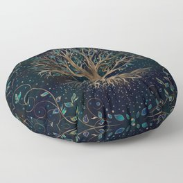 Tree of Life - Yggdrasil Floor Pillow