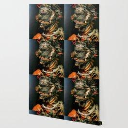 "Giuseppe Arcimboldo ""Four elements - Water"" Wallpaper"