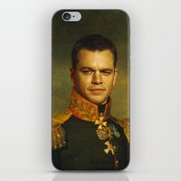replaceface iPhone & iPod Skins featuring Matt Damon - replaceface by replaceface