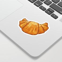 watercolor croissant Sticker