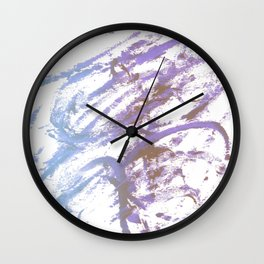 blue ecstacy Wall Clock
