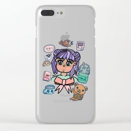 kawaii Clear iPhone Case