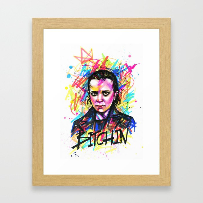 11 Bitchin Framed Art Print