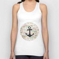 anchor Tank Tops featuring Anchor by Berreca