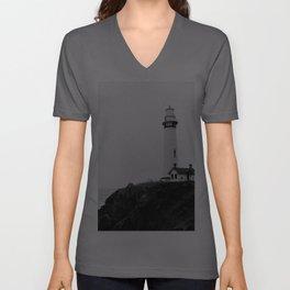 Lighthouse Unisex V-Ausschnitt