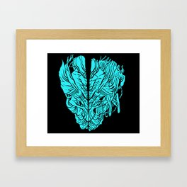 HEARTSPLIT Framed Art Print