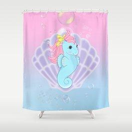 g1 my little pony seapony Shower Curtain