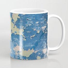 Abstract Blue Coffee Mug