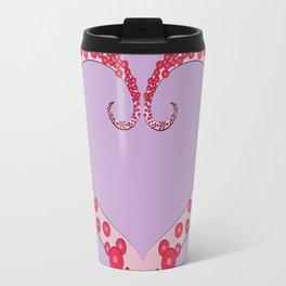 Tentacle Valentine Travel Mug