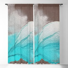 Mountain in the Valley Blackout Curtain