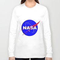 nasa Long Sleeve T-shirts featuring Nasa logo by anto harjo