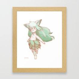 Soft Ears Framed Art Print