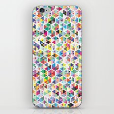 Cuben Colour Craze iPhone & iPod Skin
