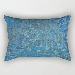 Beautifull Blue Rectangular Pillow